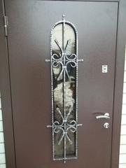Входные двери утеплённые гнутые не стандарт от производителя под ключ.